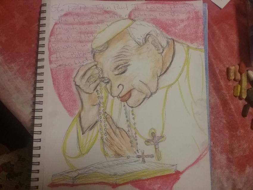 John Paul II by cindykron